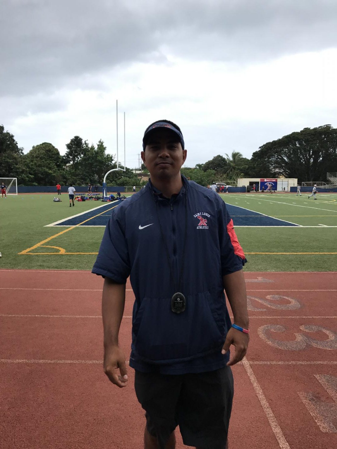 Head Coach Rob Fukuhara takes the mantle of Saint Louis Track and Field