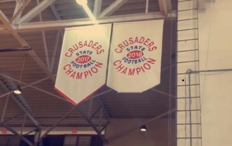 2018 Football State Championship Banner Reveal