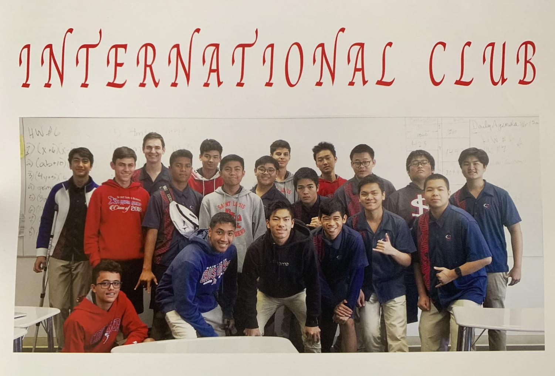 International Club (Saint Louis Annual, 2018-2019)