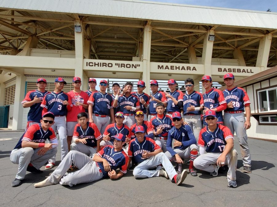 The Crusader Baseball Team Heads to Maui to Gear up for the Season